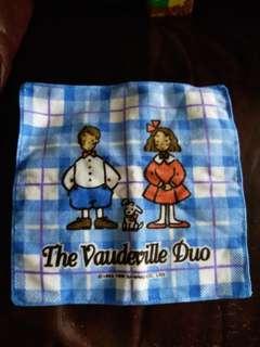 Eddy & Emmy The Vaudeville Due 狗男女日本絕版1996年毛巾仔