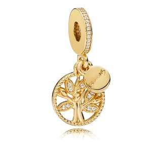 Pandora Shine 18K Gold Family Heritage Charm