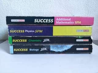 OXFORD FAJAR SUCCESS SPM Physics , Biology,  Chemistry