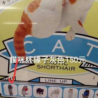 【日本扭蛋】杯緣子。貓咪。。
