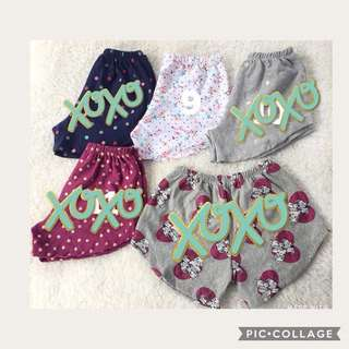 Girls cute short florals number 9 avail