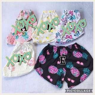 SALE! Summer Short for baby girl (E) avail