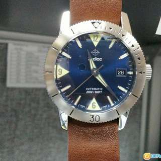 Zodiac SUPER SEA WOLF 53 ZO9264 復刻60年代