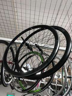 SpeedX 40mm high profile road bike 700c wheelset