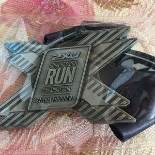 2XU HALF Marathon Medal