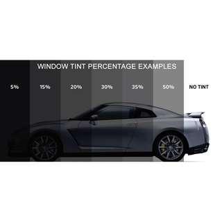 SOLAR FILMS  - TINTING CAR WINDOW