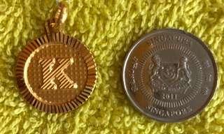 Gold 916 - Locket ❤️❤️