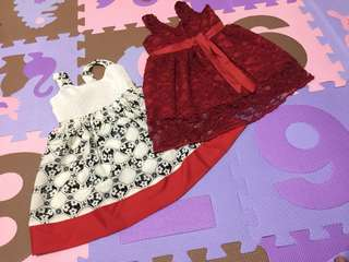 3 dress with crib shoes