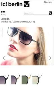 Ic! Berlin - jorg sunglasses
