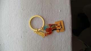 Gold Camel Dubai Keychain
