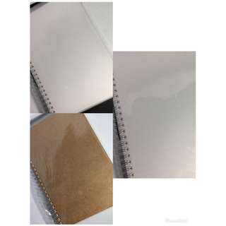 Muji Inspired Notebook / A5 notebook