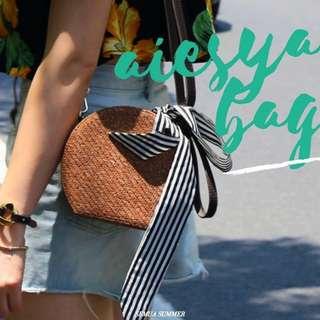 Straw Bag : AIESYA