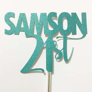Cake toppers PROMO