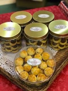Hand-made Pineapple Tarts