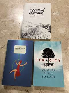 Assorted Local Authors Literature / Books (Support Local!)