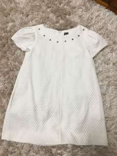 Zara dress Girl white dress 女童白色裙