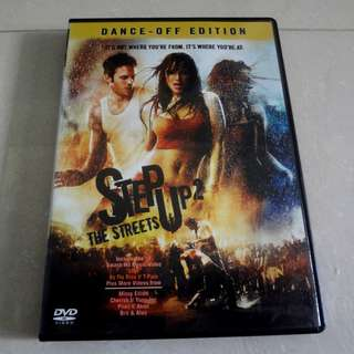 Step Up 2 The Streets Original Movie DVD