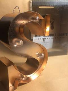 S-Gold Lamp