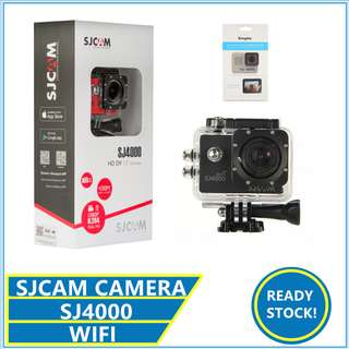 ORIGINAL SJCAM SJ4000 WIFI 2.0 WATERPOOF ACTION CAMERA ULTRA HD
