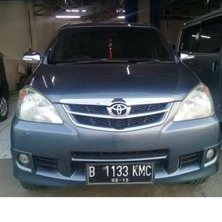 Toyota Avanza G 2011 Manual Abu-abu Metalic