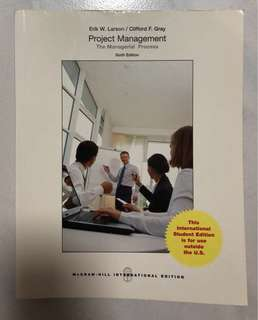 Project Management Textbook