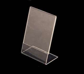 Clear L Shape Holder