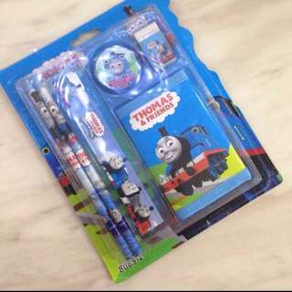 Wallet stationary set (train) - children birthday goodies favors, goodie bag packages, goody gift for kids party 🎉