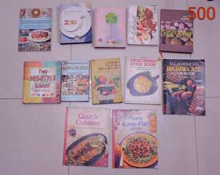 Lot of Cookbooks 3 (with calendars!)