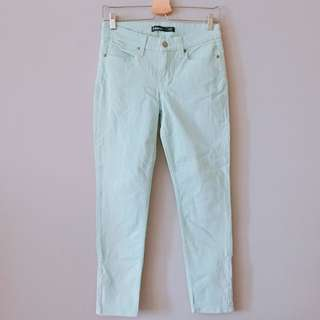 Mint Long Pants