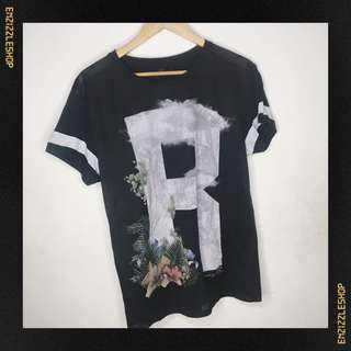Bershka Print Shirt