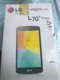 LG 70 + fino