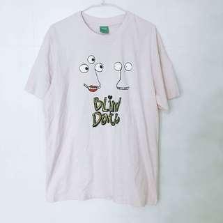 🚚 全新男裝L號Galoop相親blind date字母短袖T恤上衣粉色uniqlo
