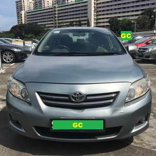 Toyota Altis CHEAPEST RENT FOR Grab/Ryde/Personal USE