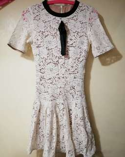 HQ LACE DRESS (Made in Italy)