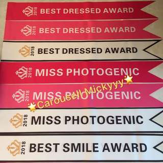 D&D Event Team building Idea - Best Smile Award / Best Dressed Award / Miss Photogenic / Wedding / Hens Night