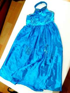 kids semi gown