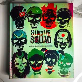 SUICIDE SQUAD | Behind The Scenes With The Worst Heroes Ever Book