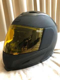 ICON Ghost Carbon Fullface Helmet