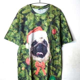 Pug Christmas Long Tee from H&M