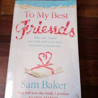 Sam Baker's To My Best Friends