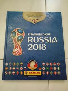 Completed hard cover panini russia 2018