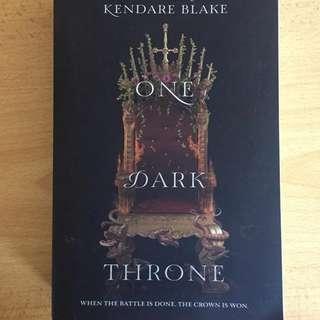 One Dark Throne Book
