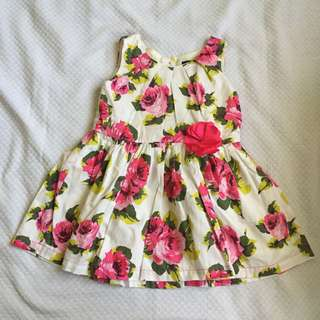 Children's place baby dress 18/24mos