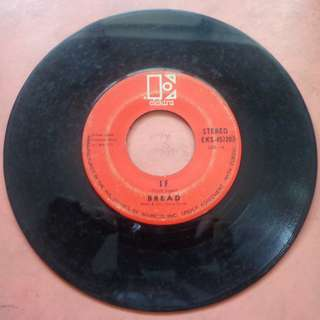 45 RPM Vinyl Record - IF by the BREAD