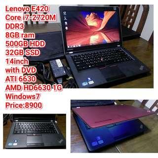 Lenovo E420 Core i7-2720M