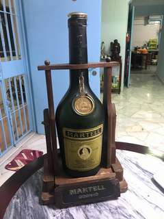 Antique Martell bottle