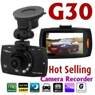 ew !! G30 High Quality Car DVR with REVERSE Camera Rear View