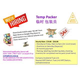 Temp Packer