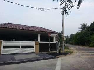 Single storey corner lot