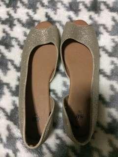 H&M Glittered Flat Shoes
